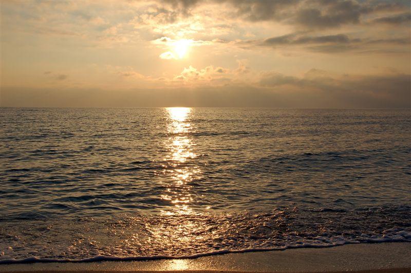 Смотреть фото моря закат в декабре