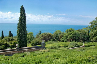 Обзорная экскурсия Южный берег Крыма, фото Южного берега Крыма от Воронцовского дворца
